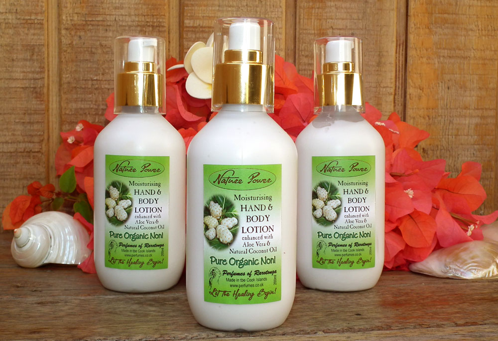 Hand & Body Lotion with Pure Organic Noni 200ml