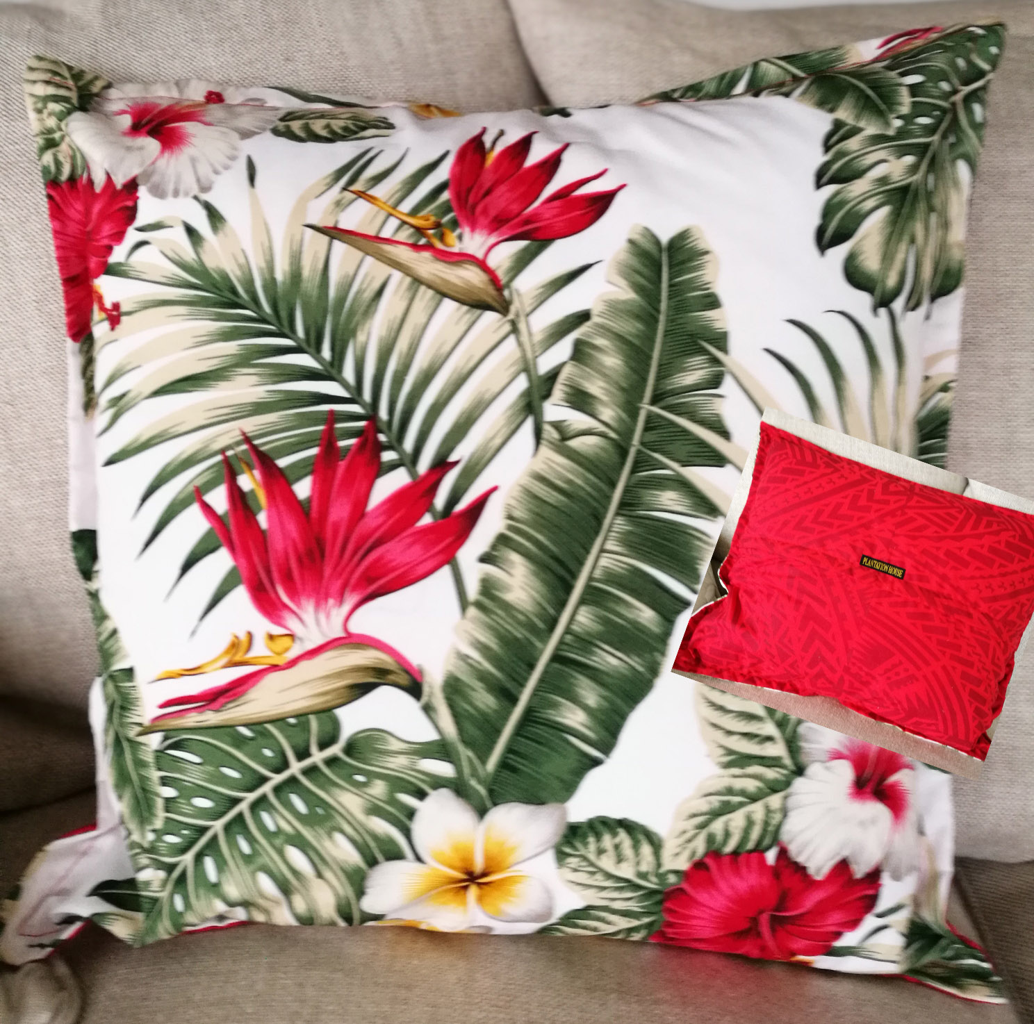 Samoan Cushion Cover 46cm x 46cm